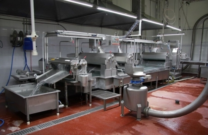 Meat processing complex