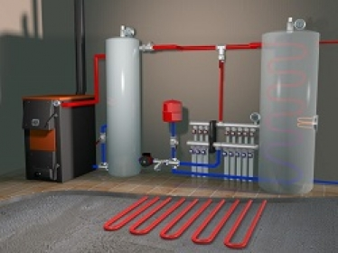 Organization for the installation of heating, water supply and sewage